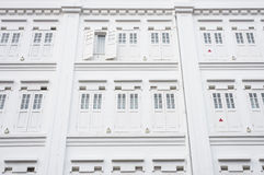 Wooden White Window Royalty Free Stock Photos