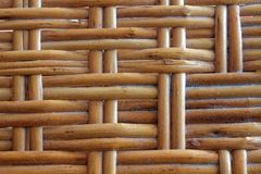 Wooden wicker texture of basketwork for background use. Wooden wicker texture of basketwork for background for web site or mobile devices Royalty Free Stock Photo
