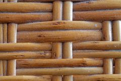 Wooden wicker texture of basketwork for background use. Wooden wicker texture of basketwork for background for web site or mobile devices Stock Photography