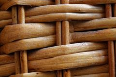 Wooden wicker texture of basketwork for background use. Wooden wicker texture of basketwork for background for web site or mobile devices Royalty Free Stock Image