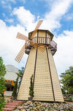 A wooden windmill Royalty Free Stock Photography