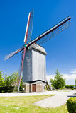 Wooden windmill, France Royalty Free Stock Photos