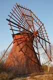 Wooden Windmill. Restored wooden windmill traditional for Western Finland Stock Photography