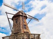 Wooden windmills Royalty Free Stock Photos