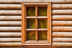 Wooden window Royalty Free Stock Image