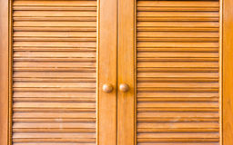 Wooden window. Door - close up - background Royalty Free Stock Photo