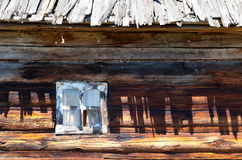 Wooden window Stock Images