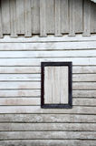 Wooden window Stock Photo