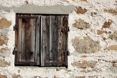 Wooden Window Royalty Free Stock Images