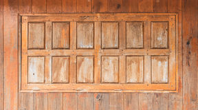 Wooden window background Stock Images