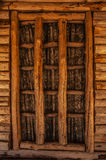 Wooden window background Royalty Free Stock Images