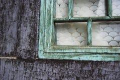 Wooden window Beijing, China stock photo