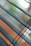 Wooden window blinds Stock Photos