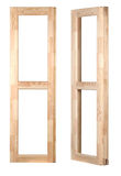 Wooden window frame Stock Photos