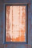 Wooden window frame Royalty Free Stock Photos