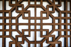 Wooden window frame Royalty Free Stock Photo