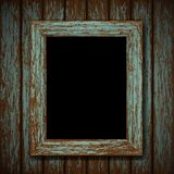 Wooden window of an old abandoned building. Vector wooden window of an old abandoned building Royalty Free Stock Photography