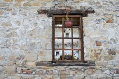 Window on the old house Royalty Free Stock Photos