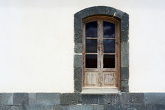 Wooden window Royalty Free Stock Photo