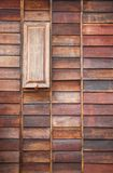 Wooden window. Open at home Stock Images