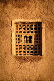 Wooden window . Ouarzazate. Morocco. Stock Images