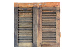 Wooden window panel Royalty Free Stock Photo