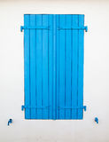 Wooden window shutter Stock Image