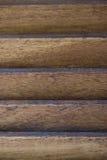 Wooden window shutter Closeup Stock Image