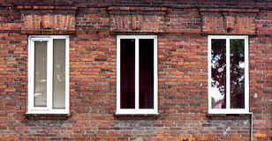 Wooden window. Wooden window with shutter doors stock images