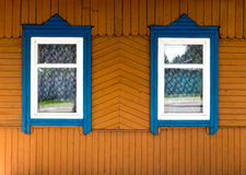 Wooden window. Stock Image