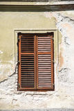Wooden window shutters Stock Photography