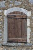 Wooden window Royalty Free Stock Photo