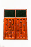 Wooden window of Thai Style Royalty Free Stock Images