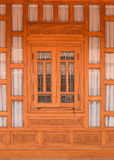 Wooden windows Royalty Free Stock Photography