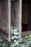 Wooden windows Stock Image