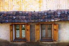 Wooden windows Stock Photos