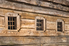 Wooden windows frame Royalty Free Stock Photography