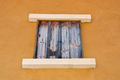 Wooden windows. Royalty Free Stock Image