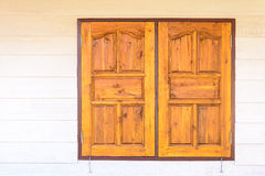 Wooden windows Royalty Free Stock Photo