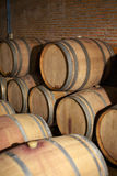Wooden wine tank Royalty Free Stock Photo