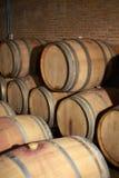 Wooden wine tank Royalty Free Stock Photo