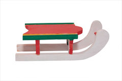 Wooden winter sleigh 3 Royalty Free Stock Photo