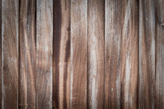 Wooden Wood plank with knots, pattern of natural old brown aged Royalty Free Stock Images