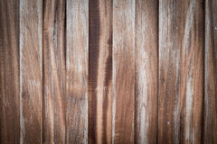 Wooden Wood plank with knots, pattern of natural old brown aged Royalty Free Stock Photography