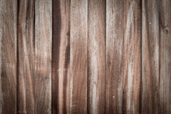Wooden Wood plank with knots, pattern of natural old brown aged Royalty Free Stock Image