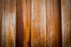 Wooden Wood plank with knots, pattern of natural old brown aged Stock Photography