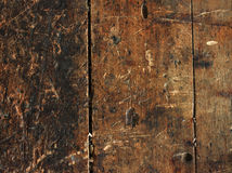 Wooden workbench background Stock Images