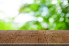 Wooden worktop surface with old natural pattern. Royalty Free Stock Image