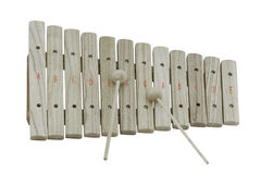 Wooden xylophone Stock Photography