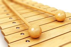 Wooden xylophone Royalty Free Stock Images